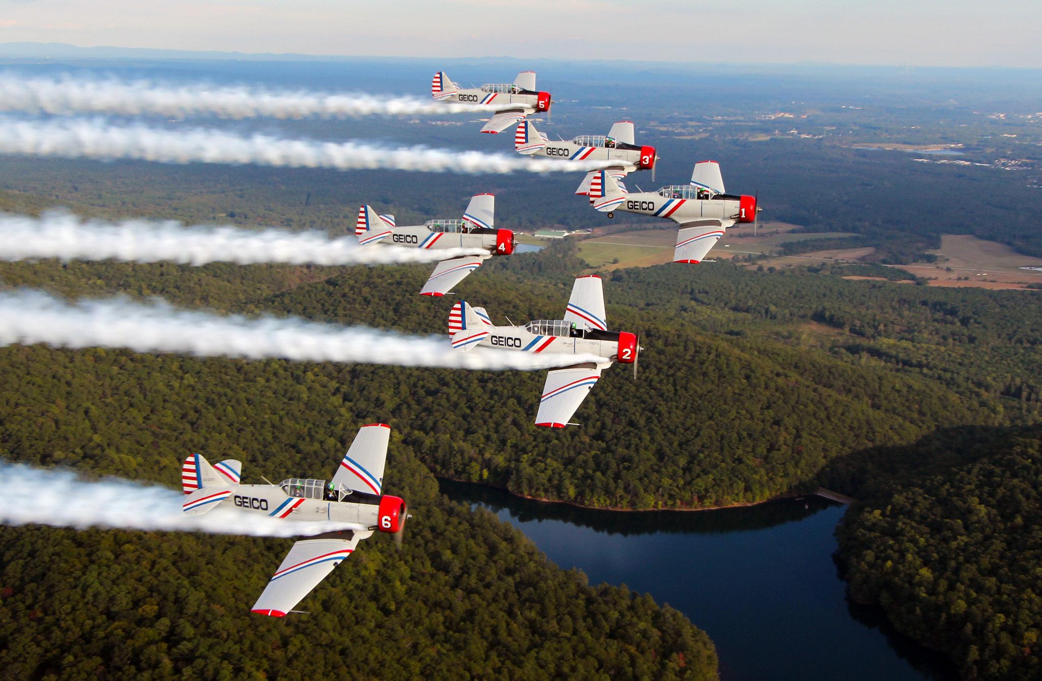 GEICO Skytypers Delta