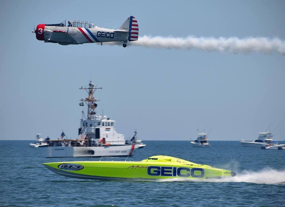 GEICO Skytypers and Miss GEICO Photo Credit Brian Maniglia Photography pic